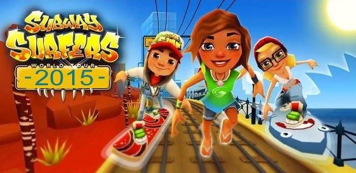 تحميل لعبة صب واى للكمبيوتر 2016 برابط مباشر بالكيبورد Subway Surfers Game