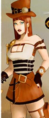 girl, digital, original character