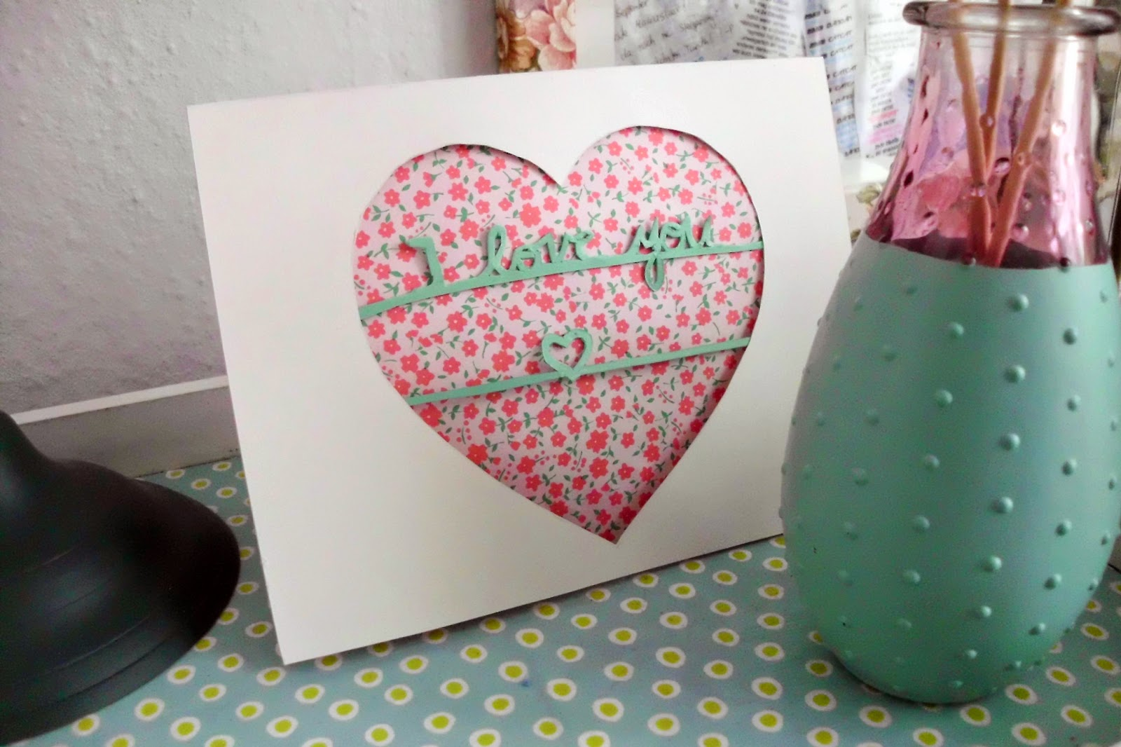 Handmade Valentines Day Card Craft Paper Scissors – Hand Made Valentine Day Cards