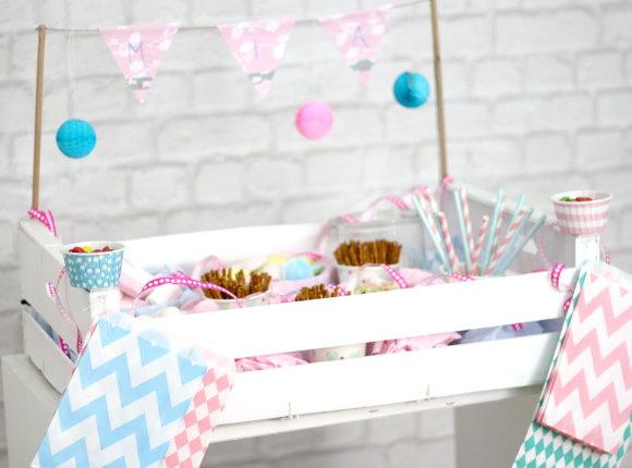 Zuckerkiste für Kinder - DIY Partyidee