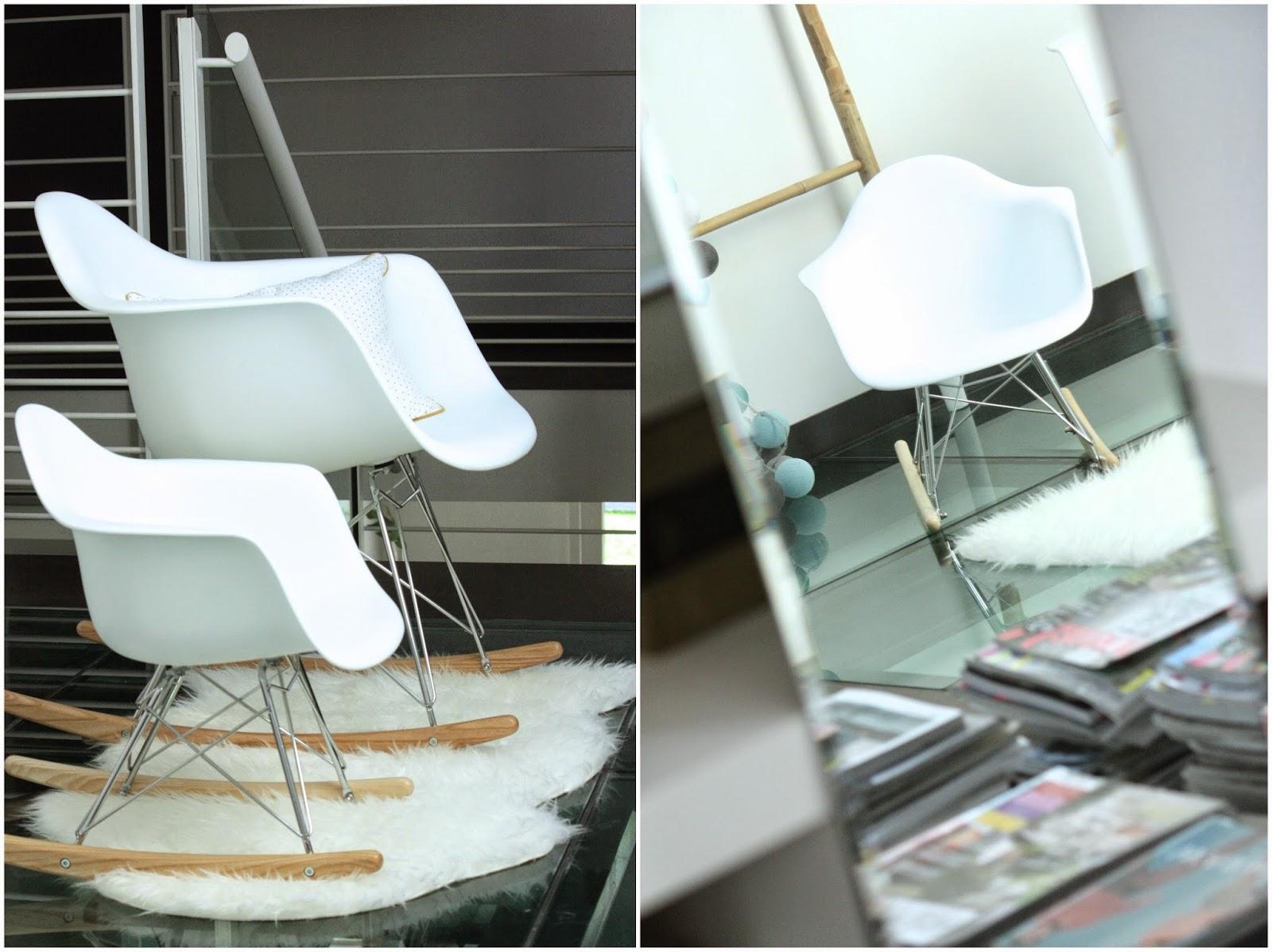 cool le fauteuil eames bascule le rar me faisait de luil. Black Bedroom Furniture Sets. Home Design Ideas