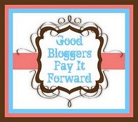 Good Bloggers Pay It Forward award