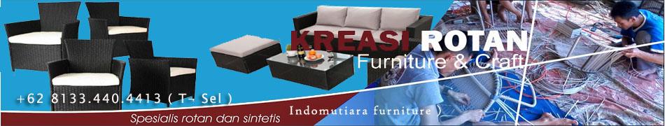 Furniture Rotan Sintetis | Kursi Rotan Sofa Minimalis Murah | Lampu Rotan | Kursi Tamu Rotan Murah