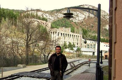 fabrica asland clot del moro tren estacion castellar d'hug