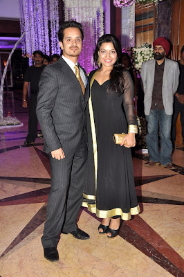 Celbs at Sunidhi Chauhan's wedding reception