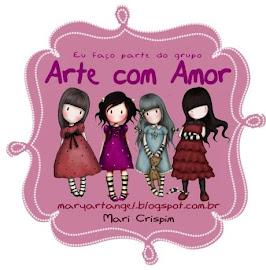 Carteirinha do Grupo Arte com Amor