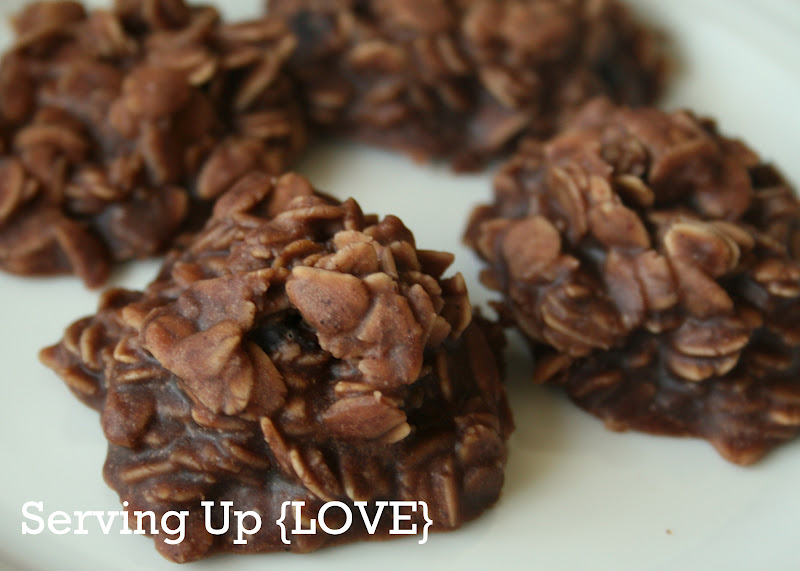 No Bake Chocolate, Oatmeal And Coconut Cookies Recipe ...