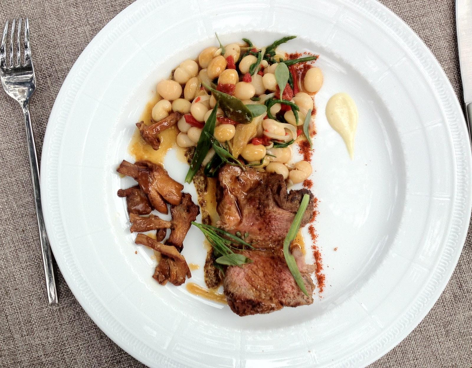 Amaury 39 s kitchen escapade cancale restaurant le - Cuisiner les salicornes ...