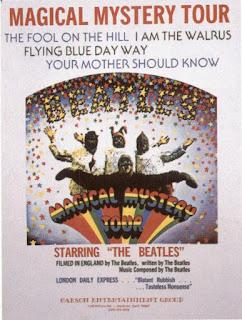 """45 anos da estréia de """"Magical Mystery Tour"""" na BBC"""