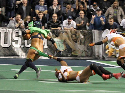 Lingerie Football Wardrobe Malfunction