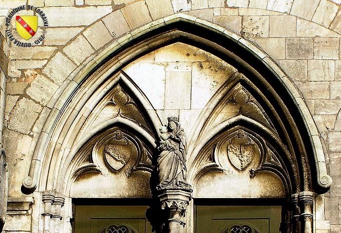 NEUFCHATEAU (88) - Eglise Saint-Chistophe (Extérieur)