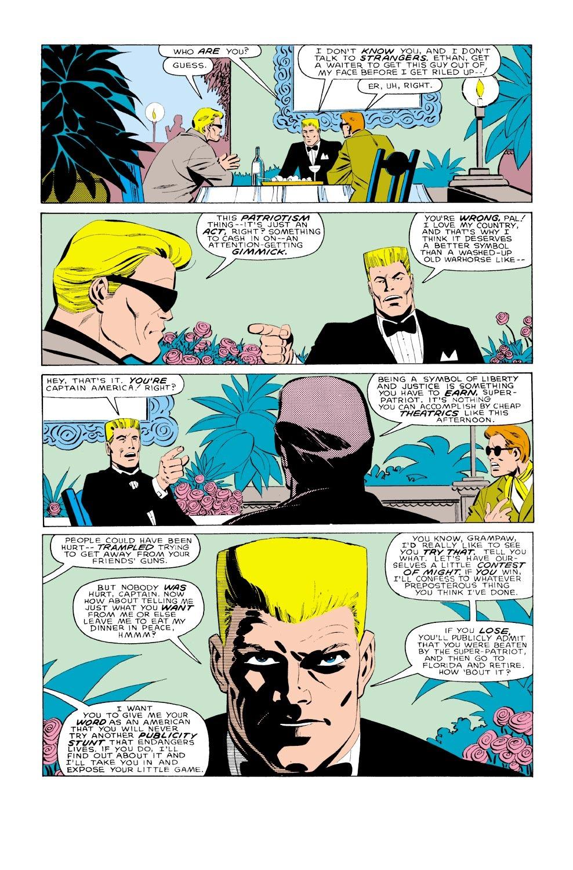 Captain America (1968) Issue #323 #251 - English 18