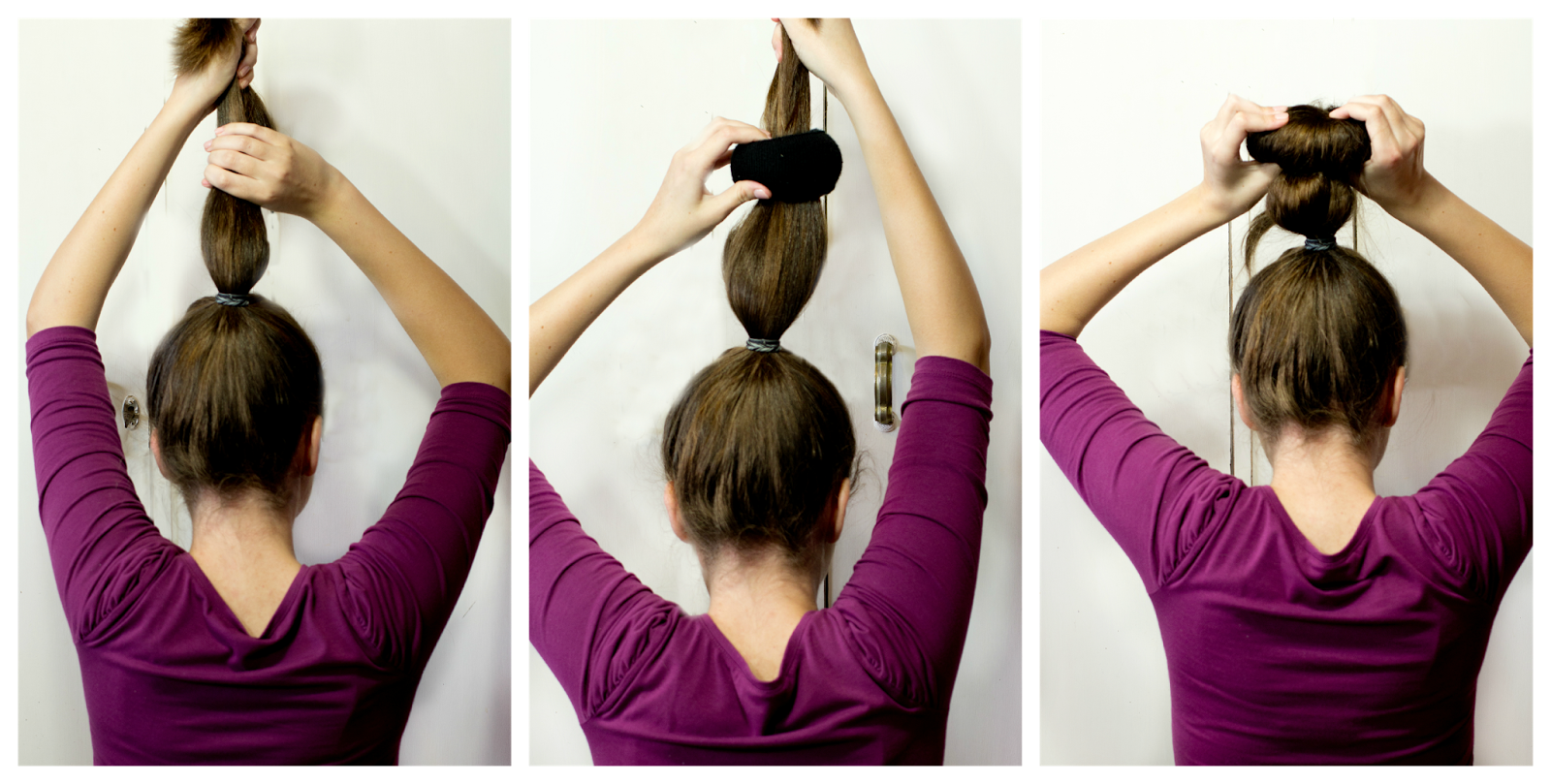 How To Do A Sock Bun Step By Step Usually my bun stays in all