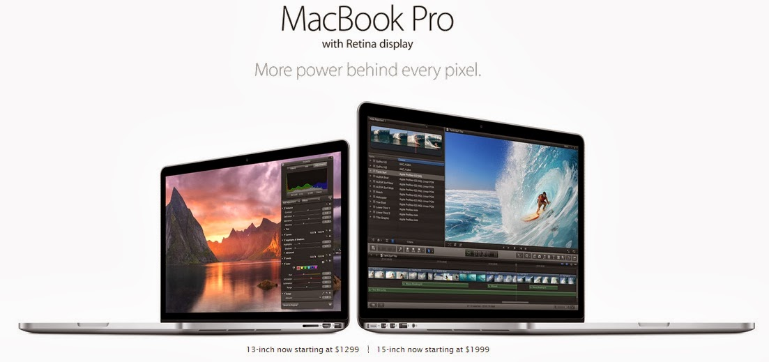 MacBook Pro with Retina Display, Selamat Tinggal MacBook Pro Basic