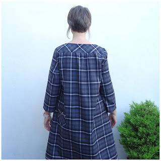 Back view, dress V