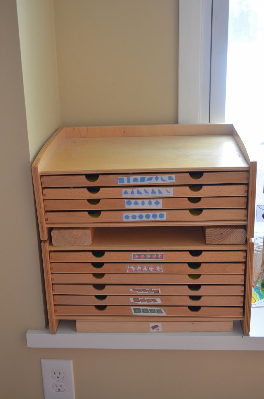 What DID we do all day? : How to Stack Montessori Cabinets