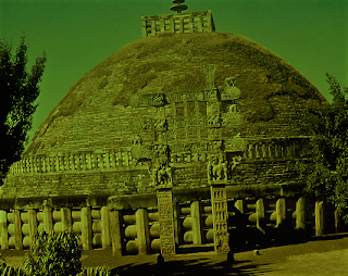 Mauryan Sanchi Stupa