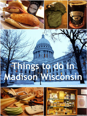Travel the World: Things to do in Madison Wisconsin including touring the capitol building and the National Mustard Museum and dining on world-class food.