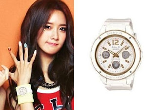 SNSD Yoona Casio Baby G Watch Collection