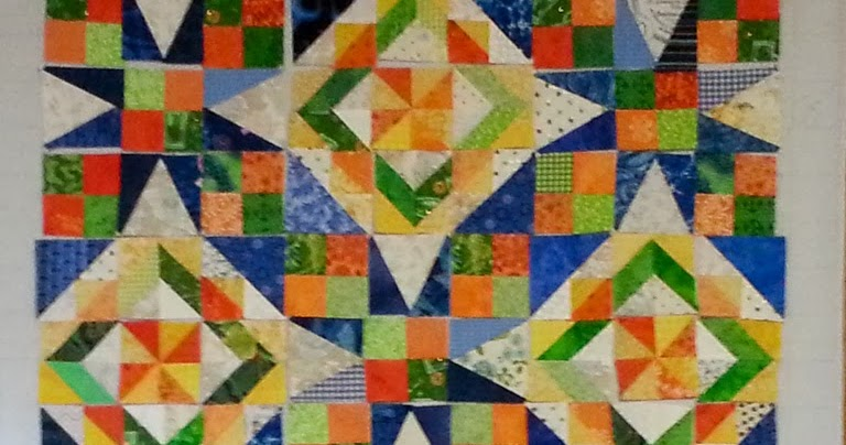 My Quilty World Celtic Solstice Clue 6 Bonnie Hunter
