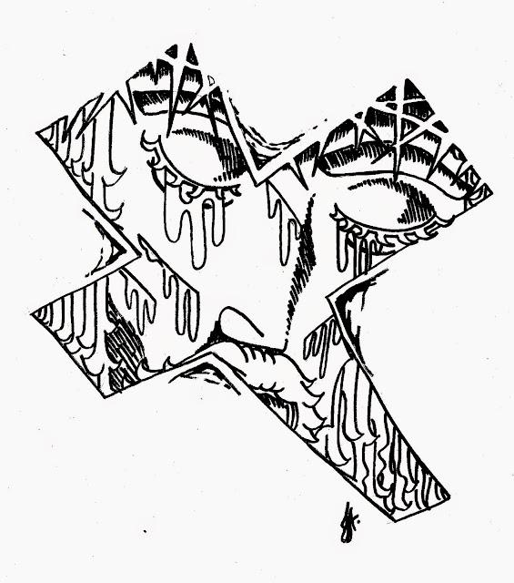Jesus chorou, Ilustração - D3s3nh4nd0