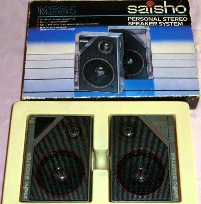 Saisho personal stereo speaker system