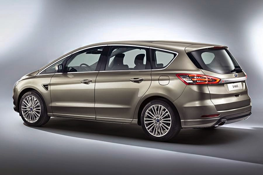 Ford S-Max (2015) Rear Side