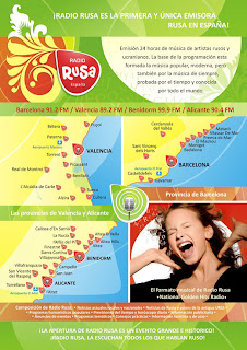 Radio Rusa. La primera radio en ruso de España