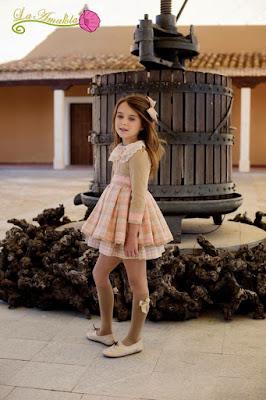 vestido niña colección caché
