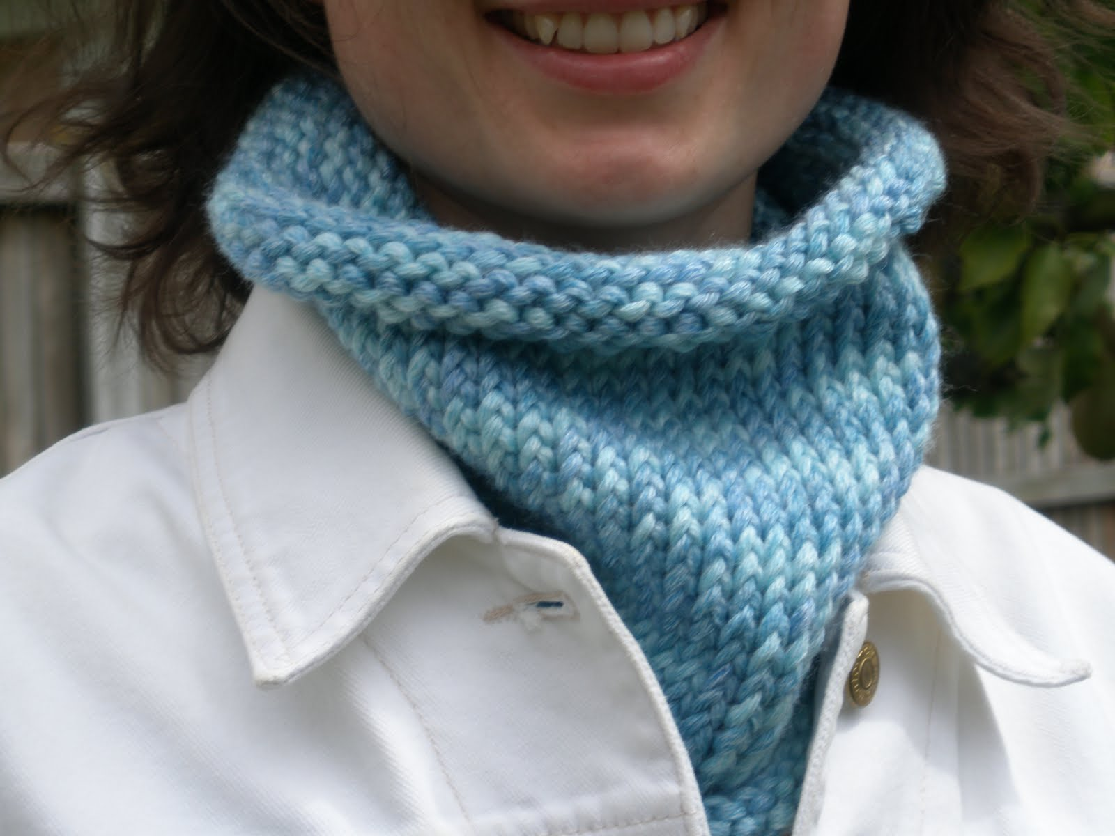 Little Birds World: Neck Gaiter Knitting Pattern for ...