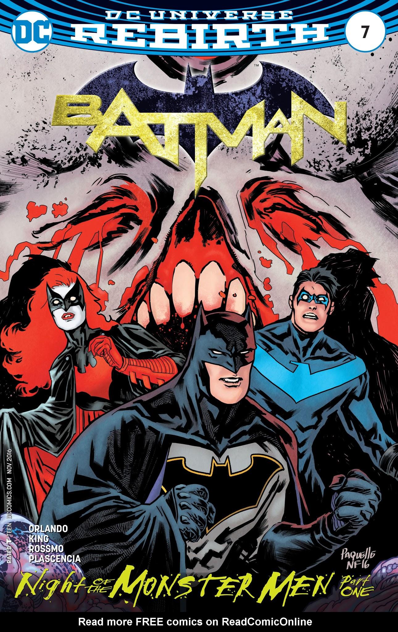 Batman (2016) 7 Page 1