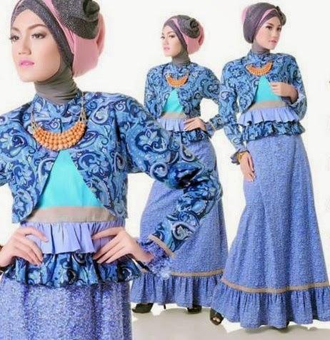 Model Baju Batik Remaja Yang Trendy Cara Memakai Jilbab