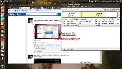 Install Ubuntu dalam Flash disk