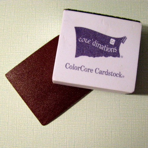 choose the cardstock you wish to be embossed i suggest color core u0026 sanding block i feel it works best but any cardstock will do