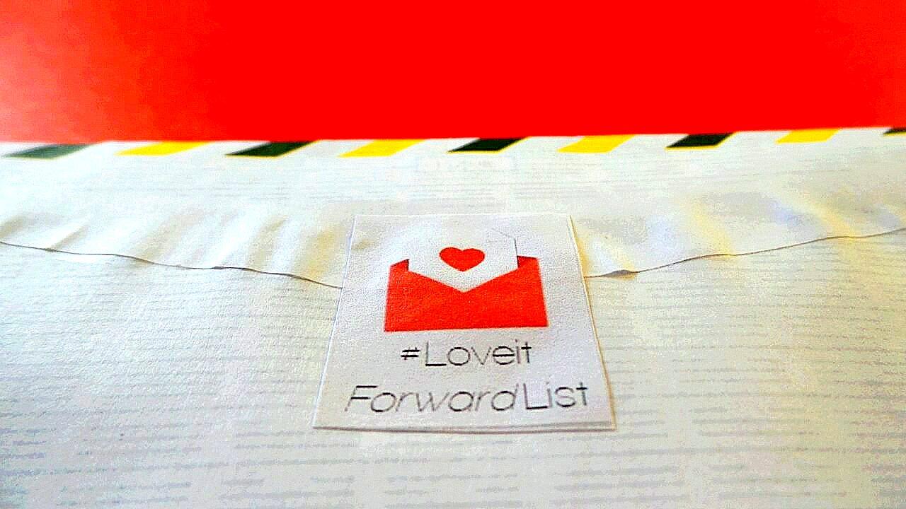 #LoveitForwardList
