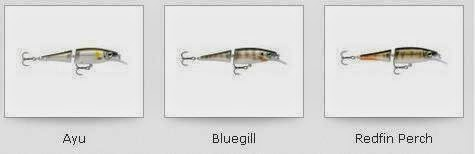 Model Rapala BX Jointed Minnow