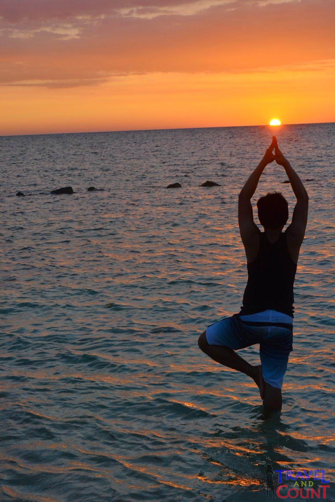 Sunset Watching in Potipot Island Zambales