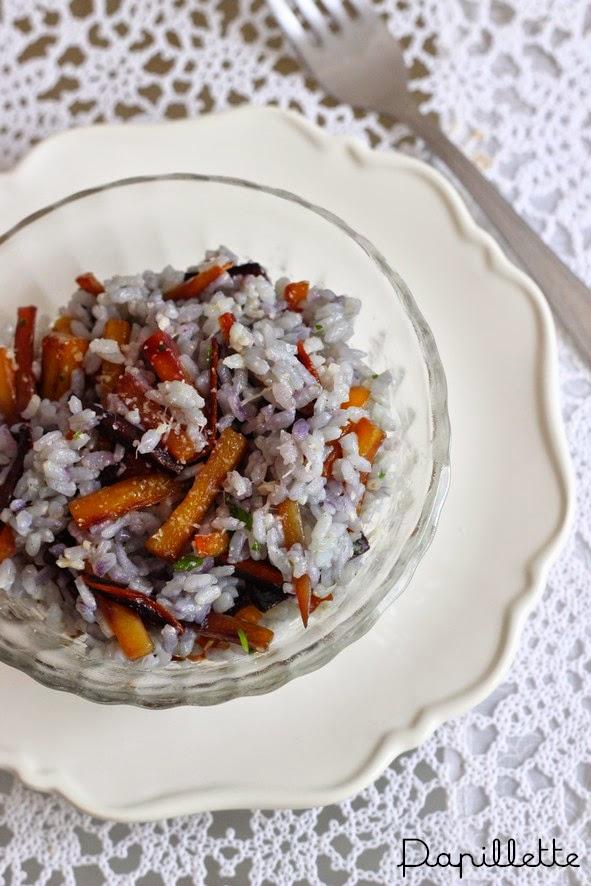 risotto carotte parmesan