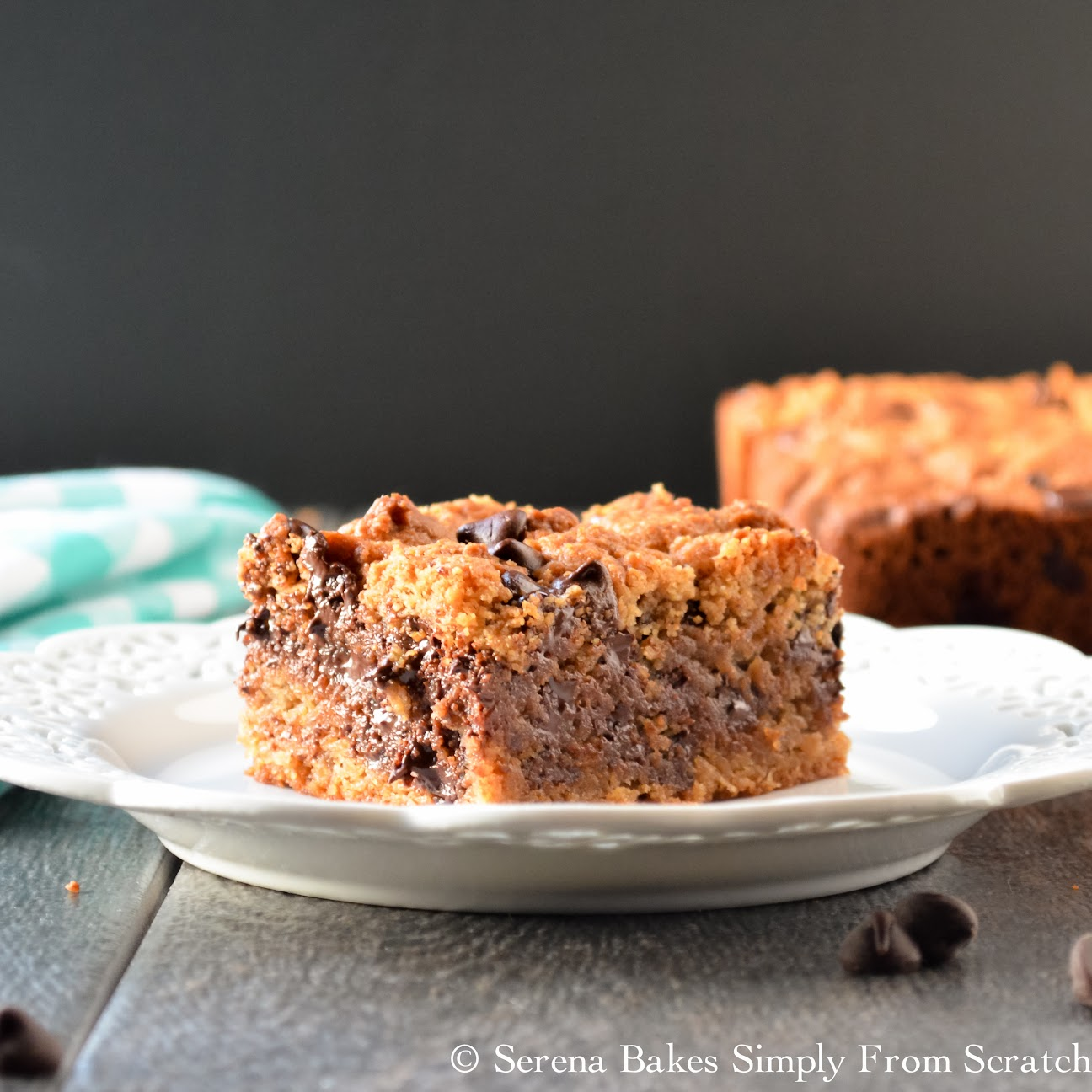 Peanut Butter Blondies are delicious and easy to make.