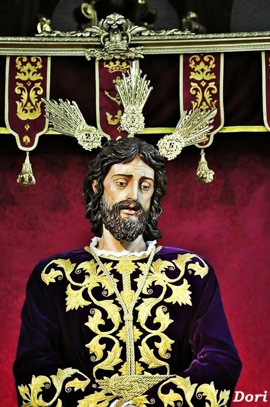 Besapiés  a Nuestro Padre Jesús de la Paz del Carmen Doloroso 2015