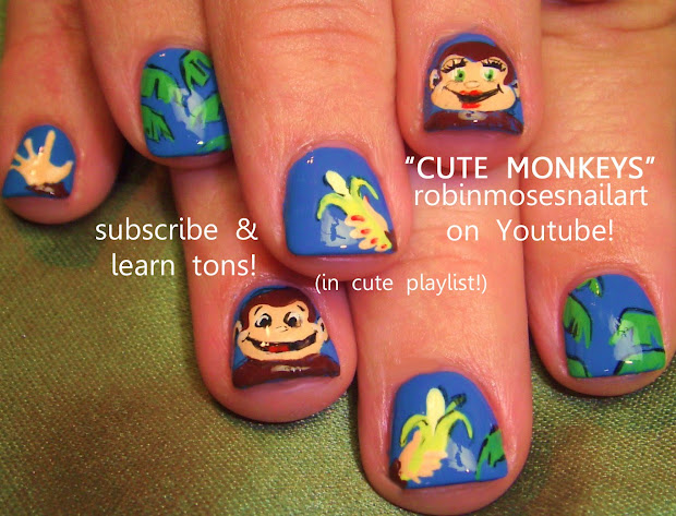 "robin moses nail art ""monkey nails"""