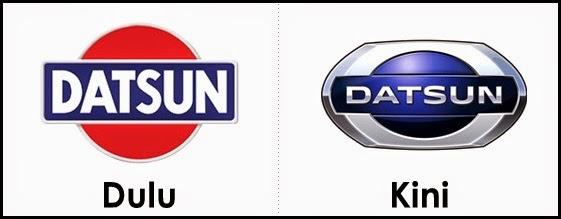Logo Datsun dulu dan kini