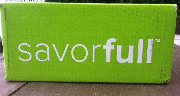 Savorfull Review September 2012 - Monthly Allergy Free Subscription Box!