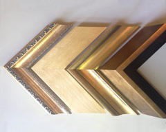 KeenART Media wide selection of gold and silver picture frames