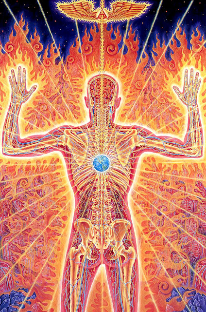 Alex Grey, kundalini awakening