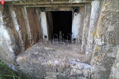 Амбразура в одинадцатом бункере