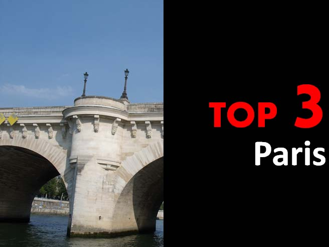 Top 3 - Paris