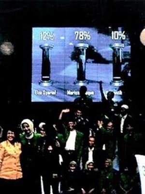 Gemilang NIlai Marissa Haque untuk PPP di Global TV 2008