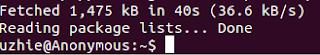 tampilan selesai update ubuntu