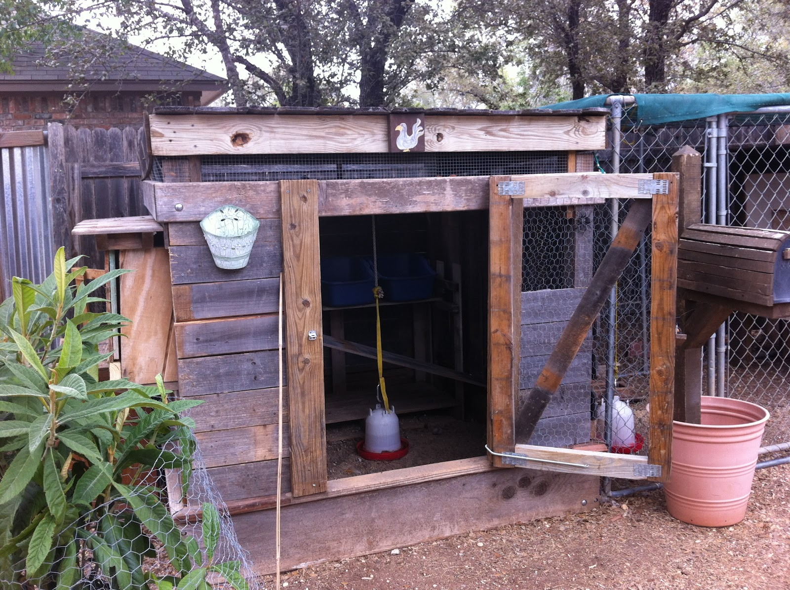 hill country chicken coop tour